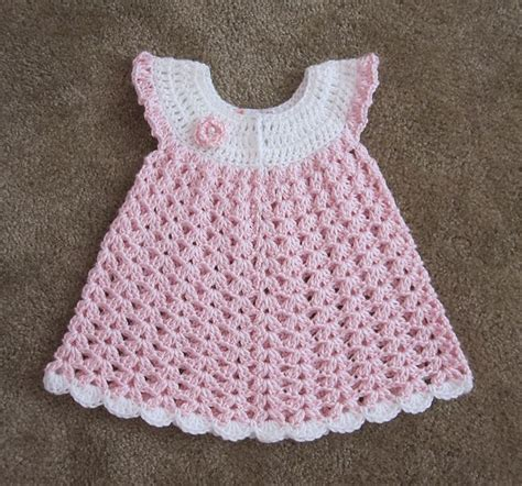free pattern newborn dress angel wings pinafore crochet baby clothes pinterest