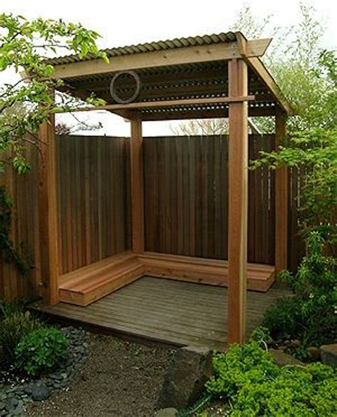 backyard rain shelter yoga spaces and metal roof on pinterest
