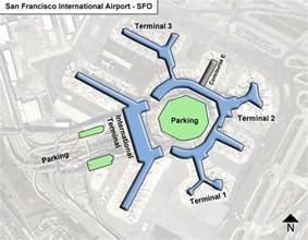 San Francisco International Airport Terminal Map by Sfo San Francisco Airport Terminal Maps