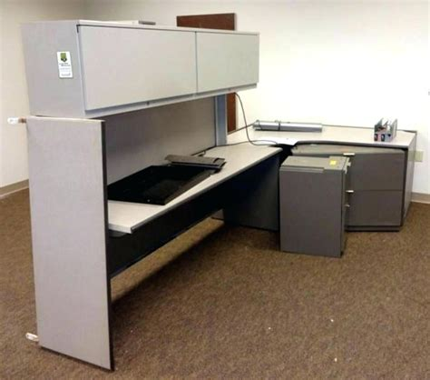 desk with overhead storage desk with overhead storage bush series commercial grade