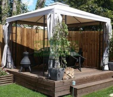 gazebo with curtains and nets gazebo 106 metal hipped roof trellis nets curtains