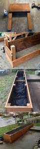 Raised Bed Planter Plans by Building A Raised Planter Bed 101 Gardening