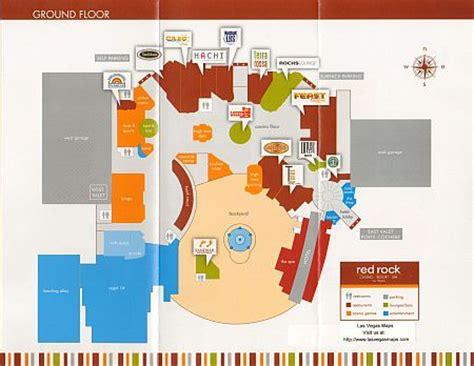 Red Rock Casino Floor Plan Red Rock Property Map Las Vegas Maps