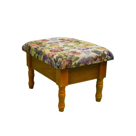 Home Decorators Ottoman Home Decorators Collection Oak Storage Ottoman H 51 The Home Depot