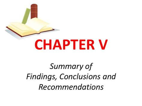 Research Paper Summary Of Findings by The Thesis And Its Parts