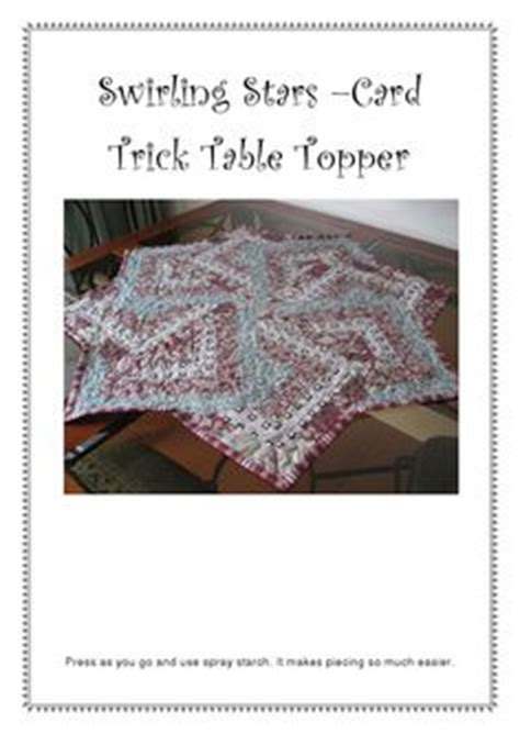card table topper 1000 images about card trick quilting pattern on