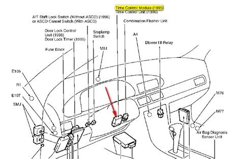 repair windshield wipe control 1995 nissan sentra instrument cluster car ignition locked engine diagram and wiring diagram