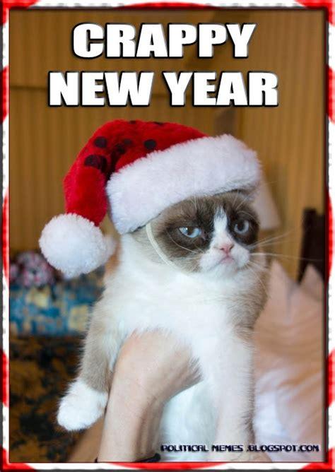grumpy cat new year political memes grumpy cat crappy new year 2014