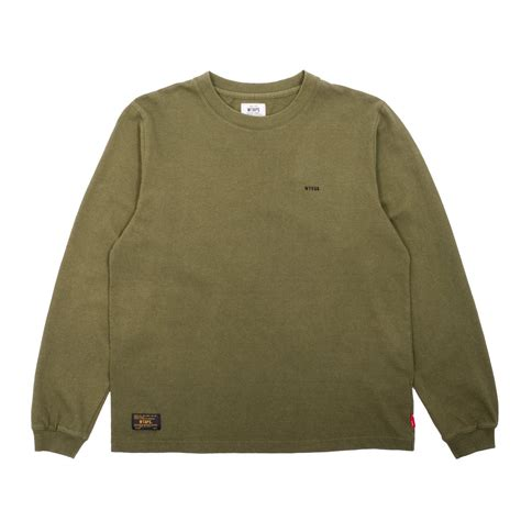T Shirt Wtaps new premium cotton hellweek longsleeve t shirt from wtaps