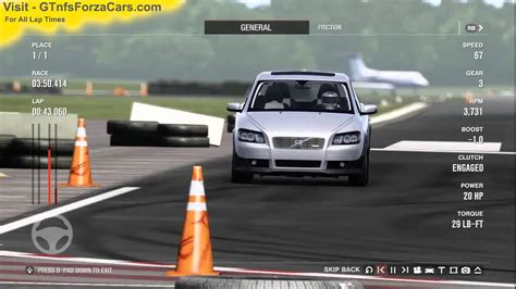 top gear volvo c30 top gear test track 2009 volvo c30 r design forza 4