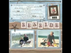scrapbooking ideas for scrapbook layouts youtube