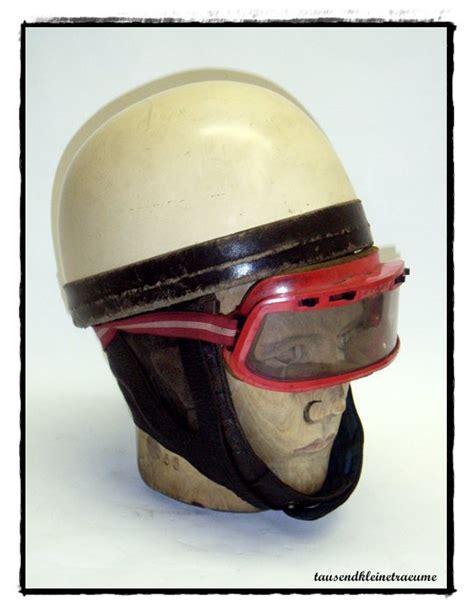 Motorradhelm Ddr by Alter Ddr Motorradhelm Mit Brille Halbschalen Helm
