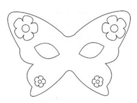 butterfly mask template butterfly mask coloring pages coloring pages