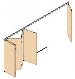 ferrure de portes coulissantes pliantes bois variofold 80 h
