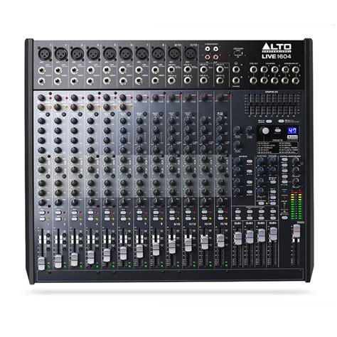 Mixer Alto Live alto live 1604 16 channel usb mixer with dsp at gear4music