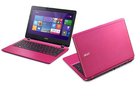 Notebook Acer Aspire One Warna Pink acer aspire v3 111p c1u0 laptop 11 6 quot display 4gb ram 500gb hdd pink ebay