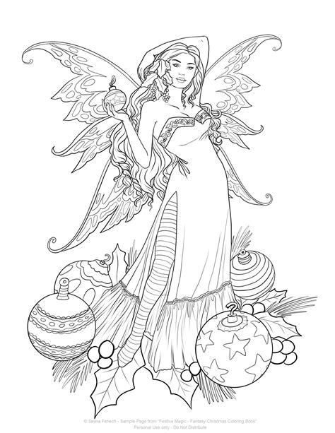 festive christmas colouring book festive magic fantasy christmas coloring book selina fenech enchanting hearts with fantasy