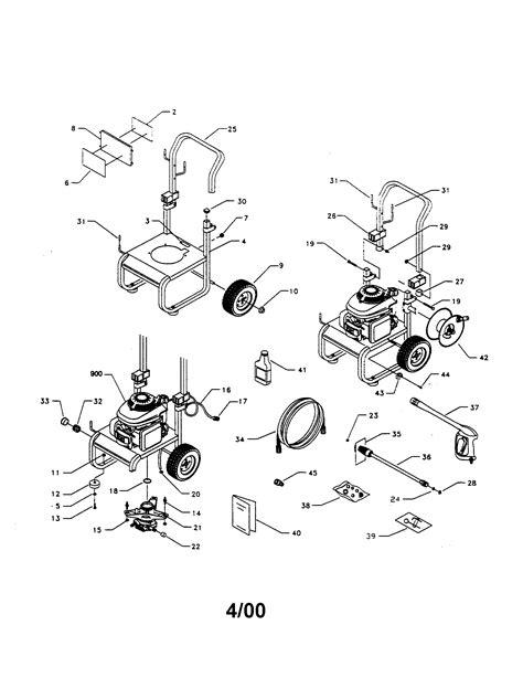 CRAFTSMAN PRESSURE WASHER Parts | Model 580768340 | Sears