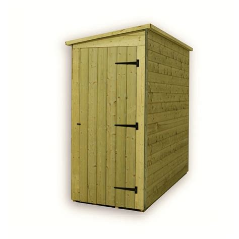 3x5 Shed by 3 X 5 Windowless Pressure Treated Tongue And Groove Pent