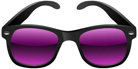 glasses clipart black and purple sunglasses clipart image fonts water