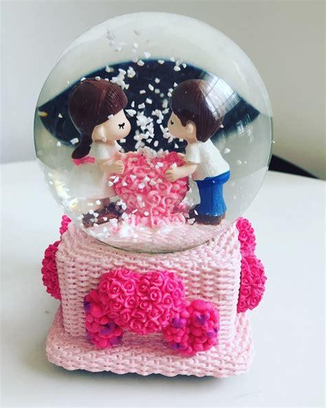 Jual Kotak Musik Romantis jual kotak musik snow globe bola salju kado