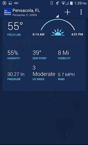 the weather channel app android the weather channel for android for free