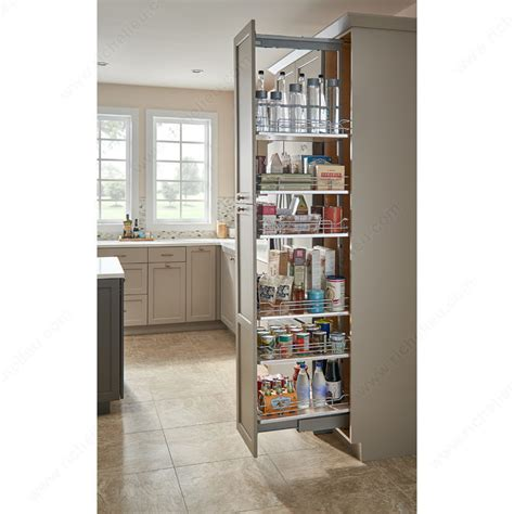 sliding pantry   slip baskets richelieu hardware