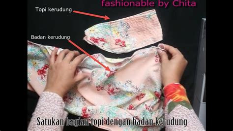 Jilbab Instan Ruffle Bhn Wolfis cara menjahit jilbab pashmina instan mudah dan praktis elbise