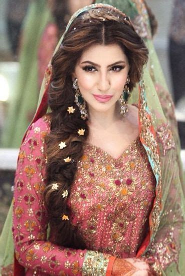karachi party makup pic and hair style pic pakistani party makeup hairstyles 2018 pictures