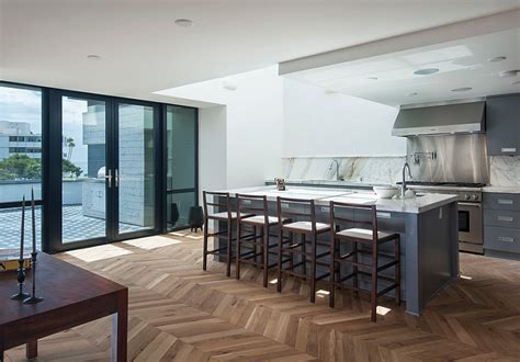 Zigzag Patterns in Kitchen: Chevron And Herringbone