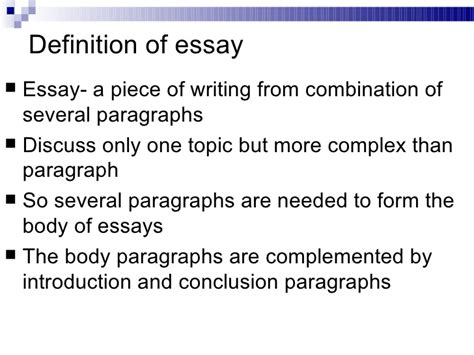 Definition Essay Writing by Sle Help Writing Definition Essay