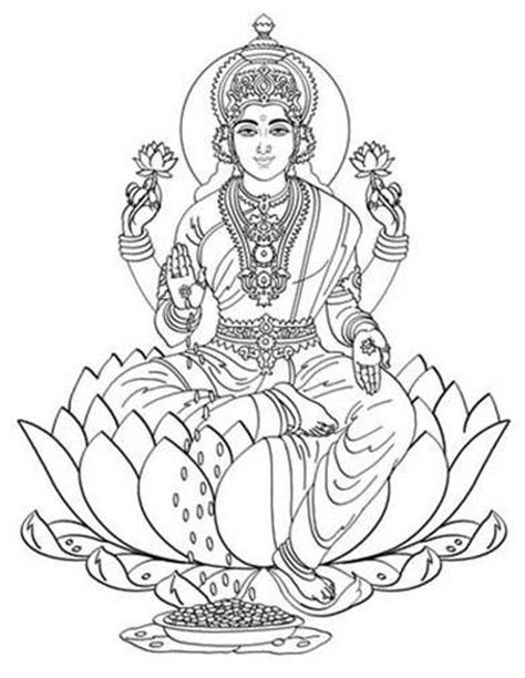 coloring pages of indian gods hindu gods colour in finger puppets google search