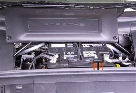 porsche cayman battery replacement porsche cayman battery location porsche get free image