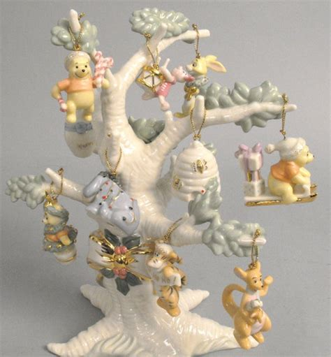lenox ornament tree winnie the pooh the hundred acre wood