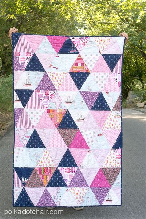How To Quilt Triangles by Half Square Triangle Quilt Picmia