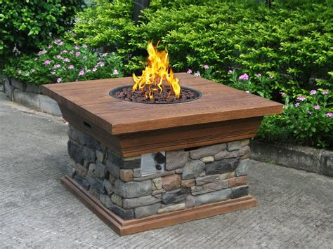 propane firepit outdoor propane pits pictures to pin on pinsdaddy