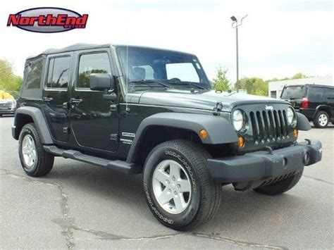 2011 Jeep Wrangler Unlimited Sport Purchase Used 2011 Jeep Wrangler Unlimited Sport In Canton