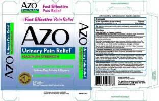phenazopyridine urine color azo i health inc phenpyridine hydrochloride 97 5mg tablet