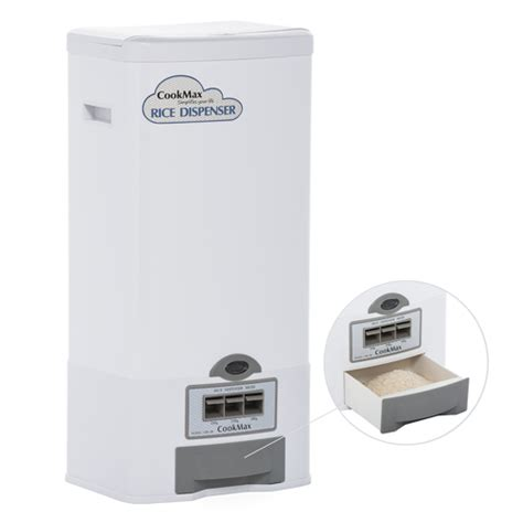 Dispenser Rice rice dispenser 50lbs