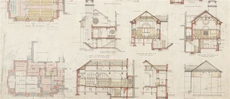 Large House Blueprints by Architectural Design Victoria And Albert Museum
