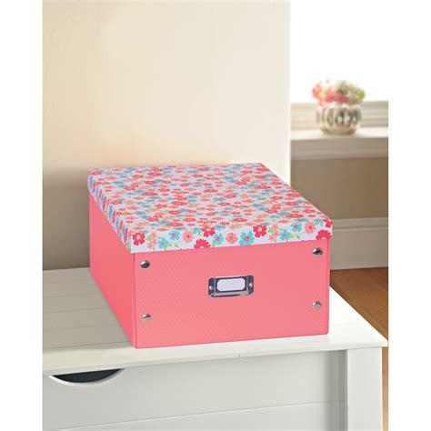 printer paper storage b m gt floral print paper storage box large ditsy floral