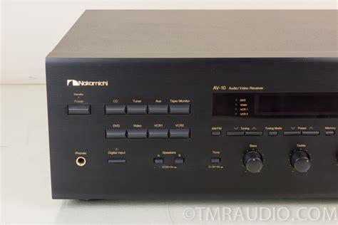 Rca Nakamichi By Harco Audio nakamichi av 10 5 1 channel 750 watt home theater stereo
