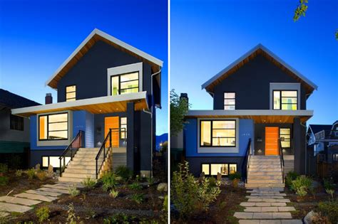 1950s Modern Home Design vancouver renovation turns a 1950s bungalow into a modern