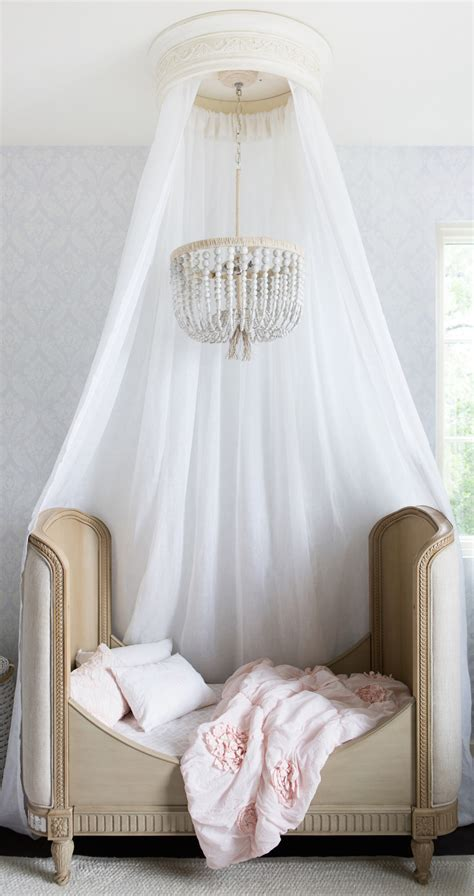 little girls canopy beds phoebe s quot big girl quot room pink white canopy and chandeliers