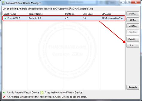 tutorial android device manager computer2know ตอนท 5 ต ดต ง avd android virtual