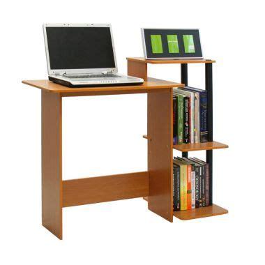 Meja Komputer Simple Furniture jual funika 11192lc bk meja komputer serbaguna