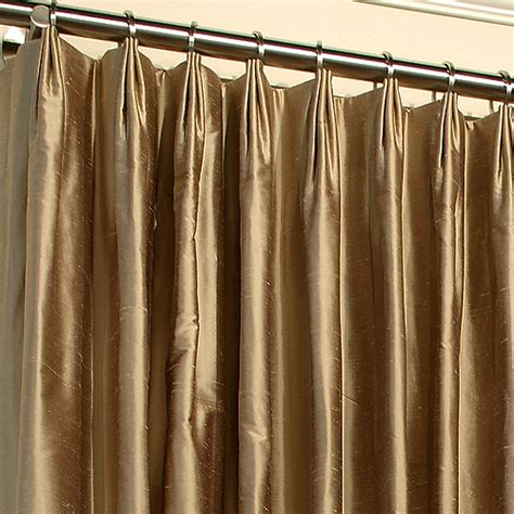 how to make drapery pleats parisian pleat window treatments pinterest