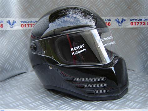 Design Custom Wars 010 bandit fighter helmet motorcycle helmet road ece black