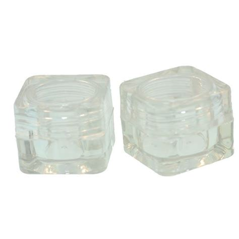 small metal storage containers small storage containers 2 pack metal clay discount supply