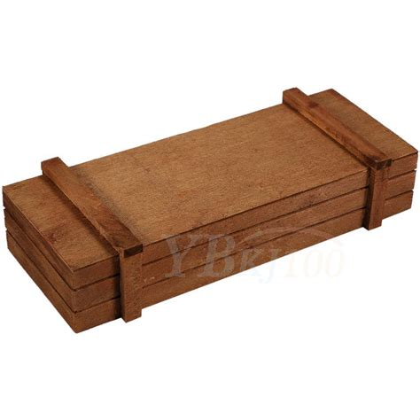 Shallow Planter Box by Rectangle Wooden Succulent Flower Shallow Plant Bed Box